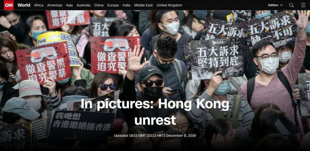 CNN - Hong Kong Protests